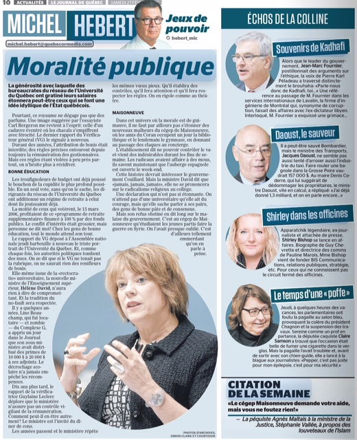 Journal de Montréal & Québec